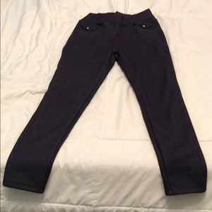 276196c1216c0d Pants - Fleece lined denim looking jeggings/leggings